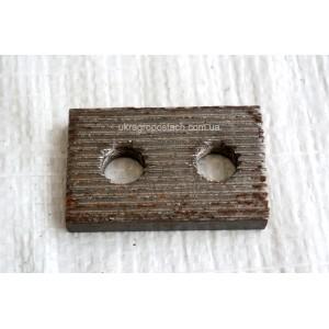 Пластина зубчатая рычага МКШ ДОН-1500