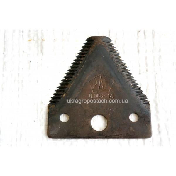 Сегмент ножа ДОН-1500 (Крупная Насечка)