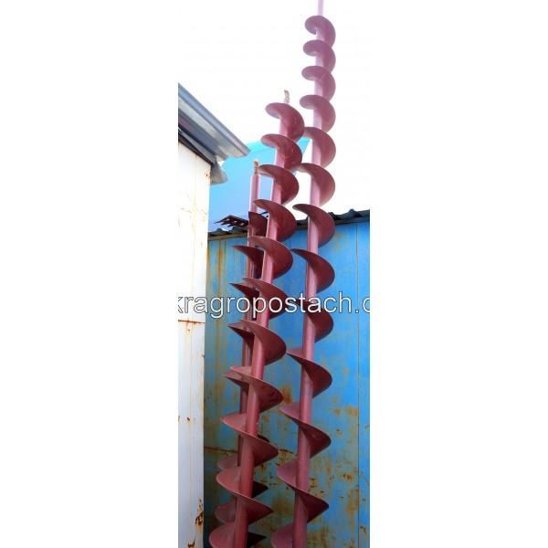 Шнек выгрузной удлинённый (d-40мм) ДОН-1500Б