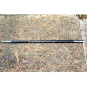 Вал промежуточный редуктора (длинный) (L=1000мм, 3 шпонки)