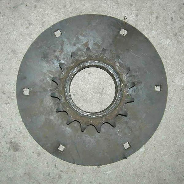 Звездочка z=16,t=25,4 с диском вала реверса со втулк.