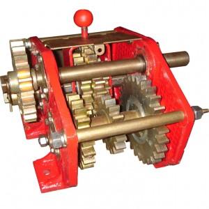 Механизм передач (левый) на сеялку СЗ-3,6